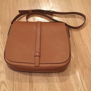 New! GAP faux leather bag in cognac